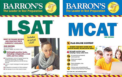 LSAT and MCAT Books